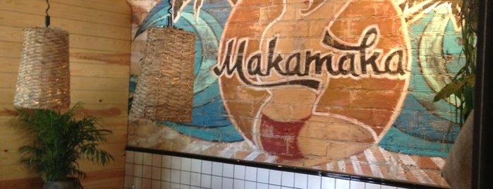 Makamaka Beach Burger Café is one of BCN.
