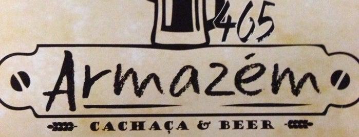 Armazém 465 Cachaça e Beer is one of Preciso visitar - Loja/Bar - Cervejas de Verdade.