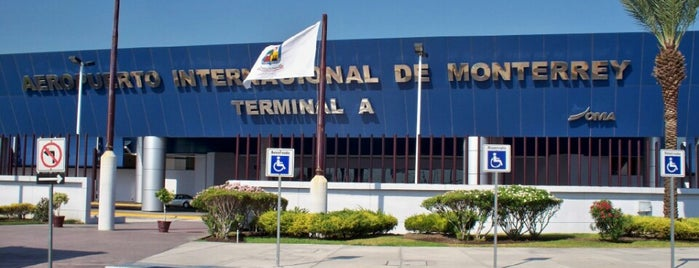 Aeroporto Internacional de Monterrey (MTY) is one of Free WiFi Airports.