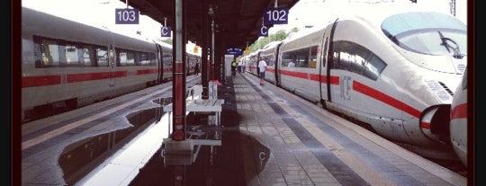 Hanau Hauptbahnhof is one of Bahnhöfe Deutschland.
