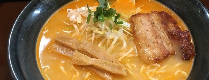 麺や雄 is one of 兎に角ラーメン食べる.