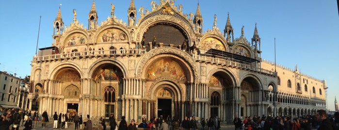 Basilica di San Marco is one of Venezia.