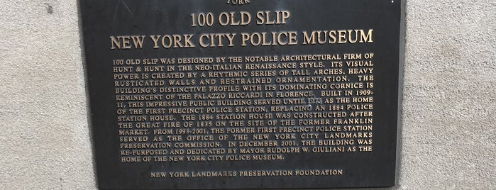 New York City Police Museum is one of Places That I've Been To.