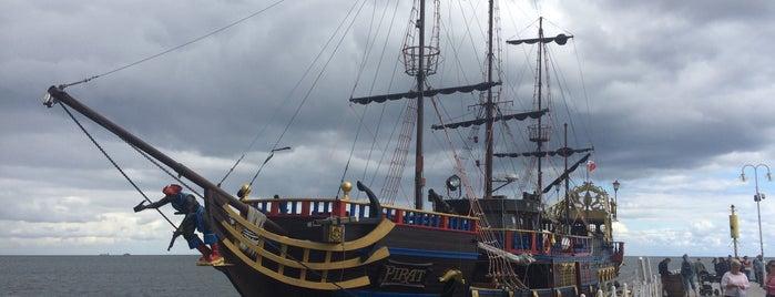 Statek Pirat is one of Гданьск - онлайн путеводитель.