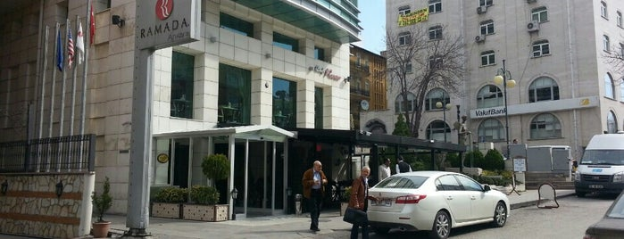 Ramada Hotel is one of Ankara'daki Oteller.