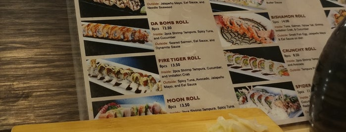 Bishamon Japanese Restaurant & Karaoke Lounge is one of Check this spot.