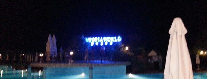 Utopia World Main Restaurant is one of Antalya mayıs.