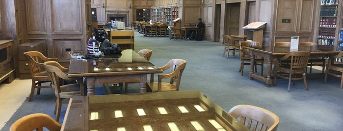 Founder's Library at Howard University is one of Civil Rights Moments.