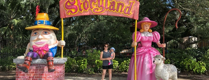 Storyland is one of New Orleans.