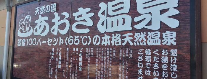 天然の湯 あおき温泉 is one of 温泉.