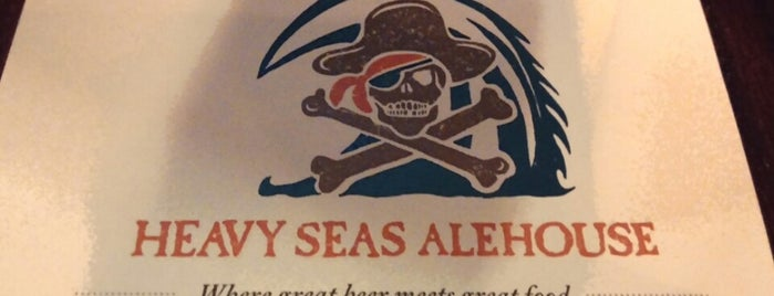 Heavy Seas Alehouse is one of Pubs Breweries and Restaurants.