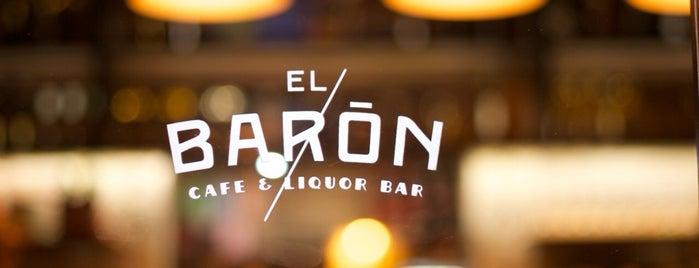 EL BARÓN - Café & Liquor Bar is one of For Colombia.