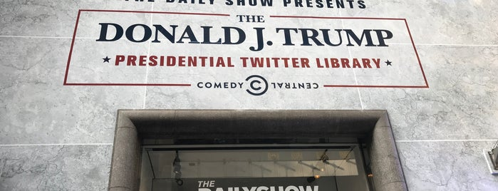 The Daily Show Presents The Donald J. Trump Presidential Twitter Library is one of NYC to do.