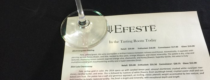 Efeste Winery is one of Must-visit Nightlife Spots in Woodinville.
