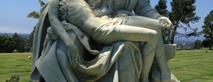 Holy Cross Cemetery is one of Los angeles.