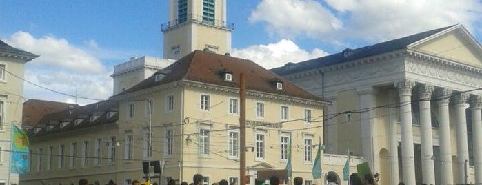 Marktplatz is one of Karlsruhe + trips.
