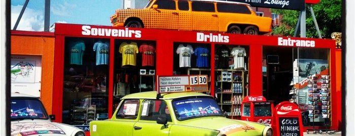 Trabi-Safari / Trabi-World is one of Berlin.