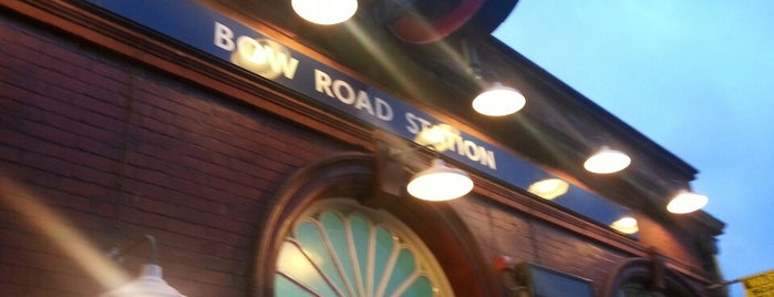 Bow Road London Underground Station is one of District Line.
