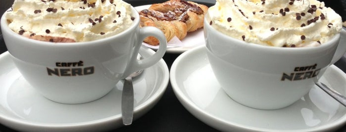 Caffè Nero is one of Hove's best spots for a drink and a sit down.