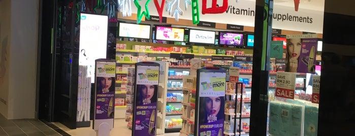 Watsons is one of pharmacy.