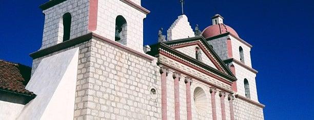 Santa Barbara Mission Church is one of Santa Barbara.