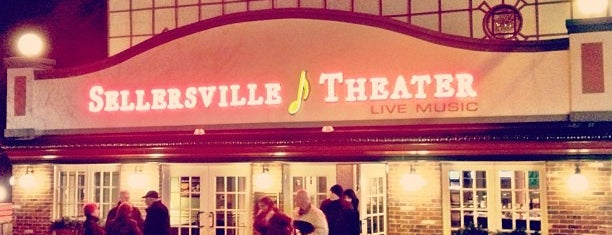Sellersville Theater 1894 is one of Check it out.