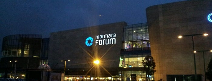 Marmara Forum is one of nadide mekanlarım.