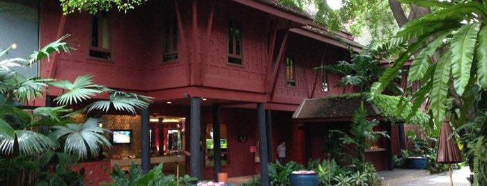The Jim Thompson House is one of Food 1.