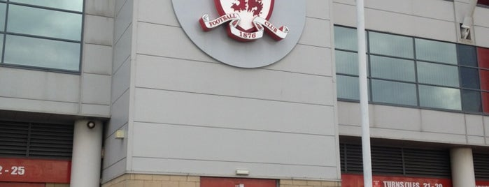 Riverside Stadium is one of Sky Bet Championship Stadiums 2015/16.