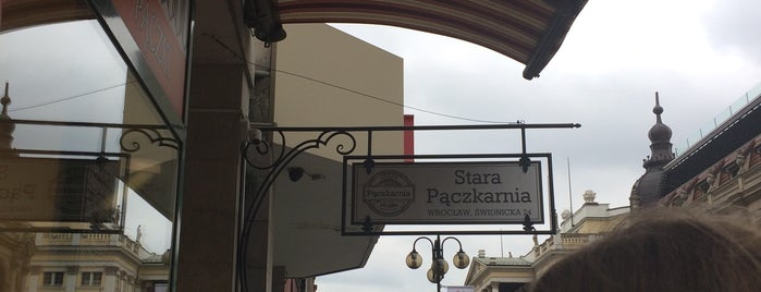 Stara Pączkarnia is one of Wroclaw-erasmus.