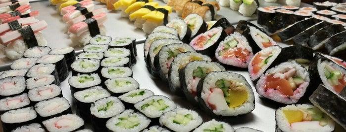 Kin Sushi is one of Thai Vietnamesich und Japanisch.