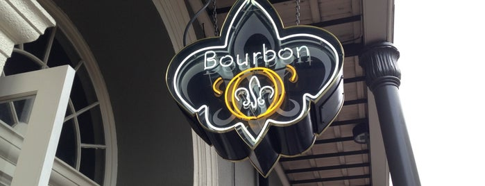 "Bourbon ""O"" is one of New Orleans."