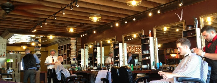 The Modern Man Barber Shop is one of My Saved Places.