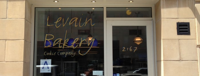 Levain Bakery is one of New York.