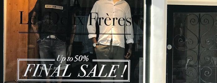 Les Deux Frères (9 Straatjes) is one of Amsterdam- Shop till you drop.