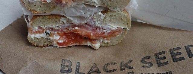 Black Seed Bagels is one of DOWNTOWN food.
