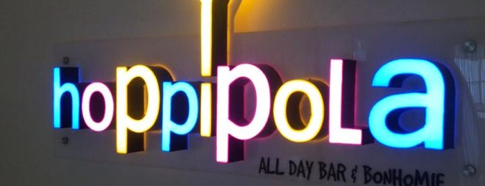 Hoppipola - All Day Bar & Bonhomie is one of Watering holes.