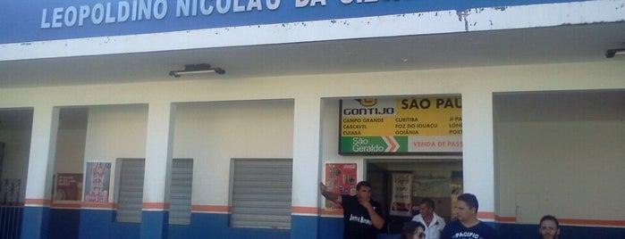 Terminal Rodoviário Leopoldino Nicolau da Silva is one of BETA#CLUBE.