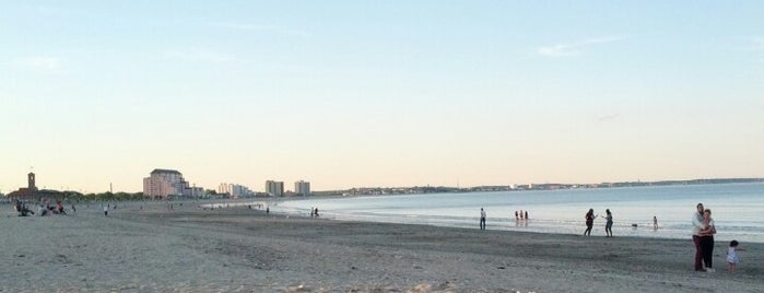 """Revere Beach is one of To the Sea By """"T""""."""