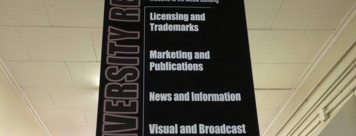 Media Building is one of Virginia Tech.