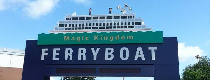 Transportation & Ticket Center Ferry Dock is one of Walt Disney World.