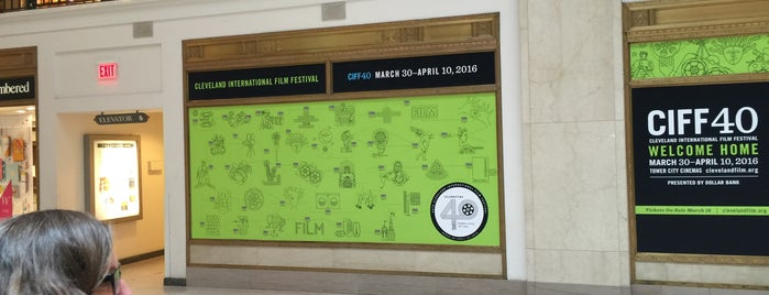 Cleveland International Film Festival Office is one of Enjoy Cleveland.