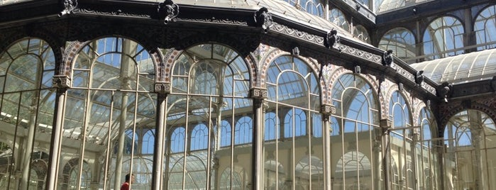 Palacio de Cristal del Retiro is one of Madri, Espanha.