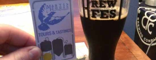 Martin House Brewing Company is one of Dallas' 4 Best Stout Beers to Warm You This Winter.