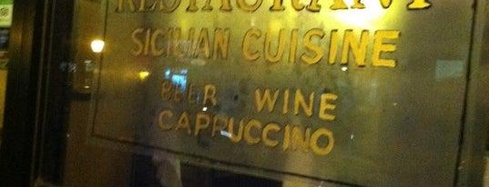 Ferdinando's Focacceria is one of NY Old Favorites.