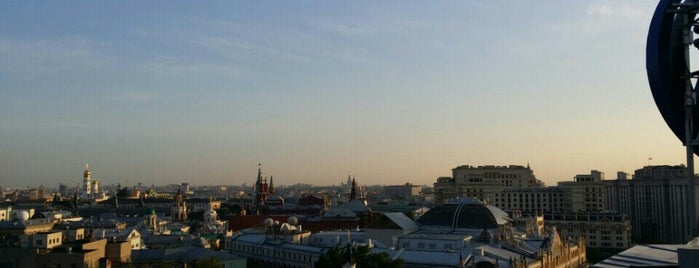 Смотровая площадка ЦДМ is one of Москва.