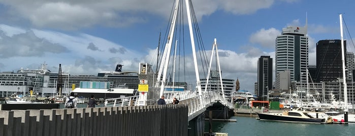 Te Wero Bridge is one of Around The World: SW Pacific.