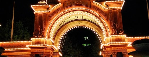 Tivoli Hovedindgangen is one of I love CPH.