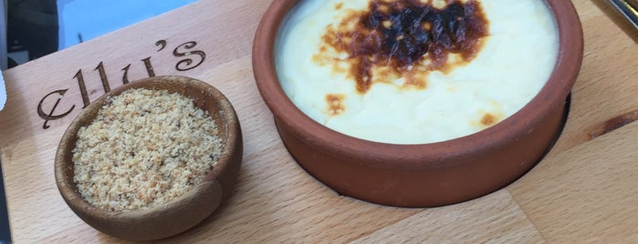 Elly's Sütlaccı is one of Gourmet!.
