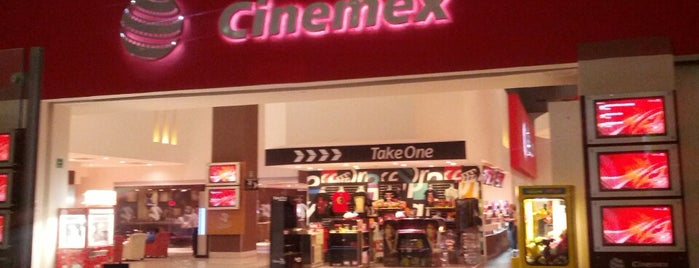 Cinemex is one of Colonia Nápoles (Mexico City) Best Spots.